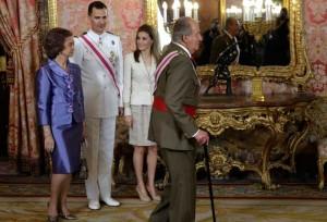 nuevos reyes España sin referendum 19Junio2014
