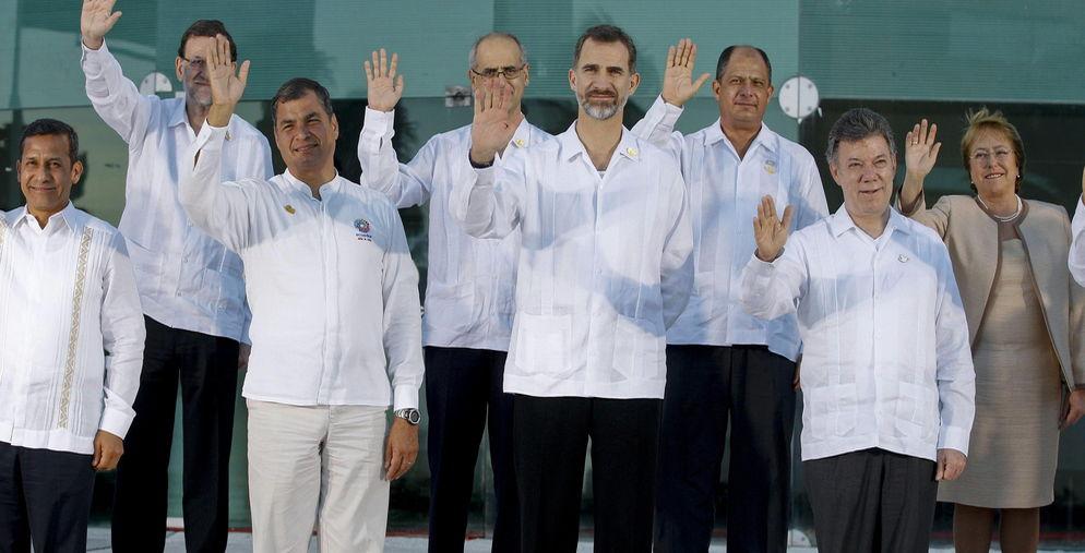 Presidentes y Rey Veracruz 2014