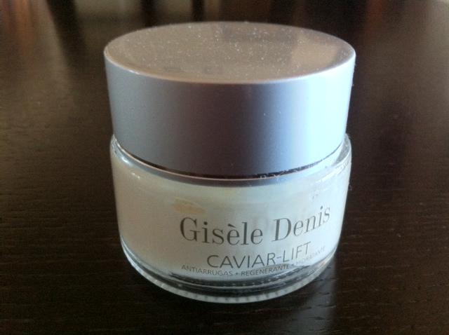 Gisele Denis crema de caviar